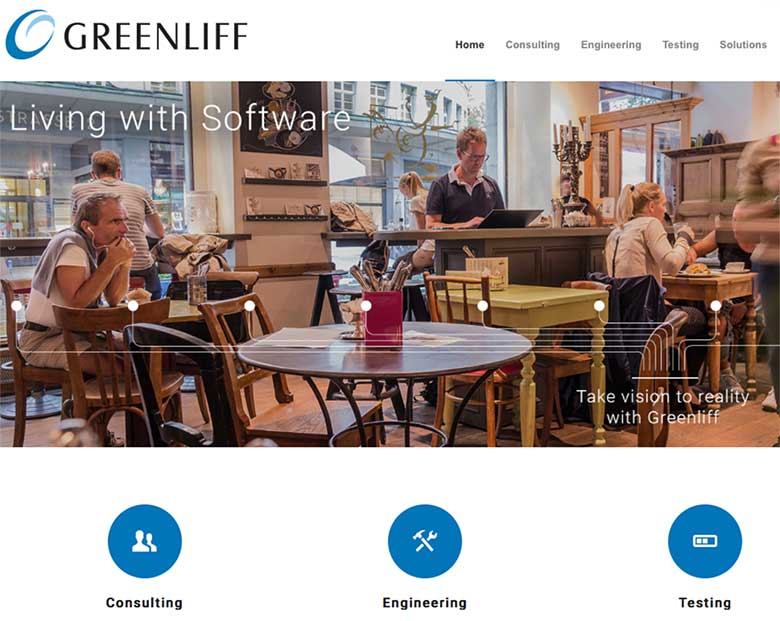 Website der Greenliff AG